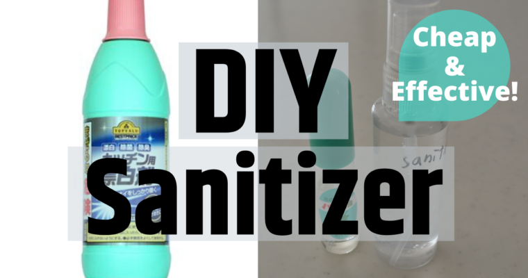 ★DIY Sanitizer★ The most Effective and Cheapest Bleach Disinfectant