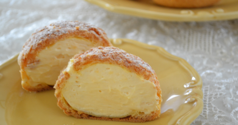 Choux Cream (Cream Puff)
