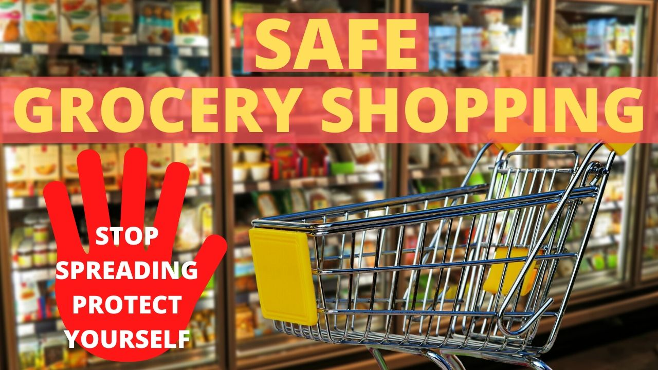 How to GROCERY SHOP SAFELY & more MEAL PREP! (EP173)