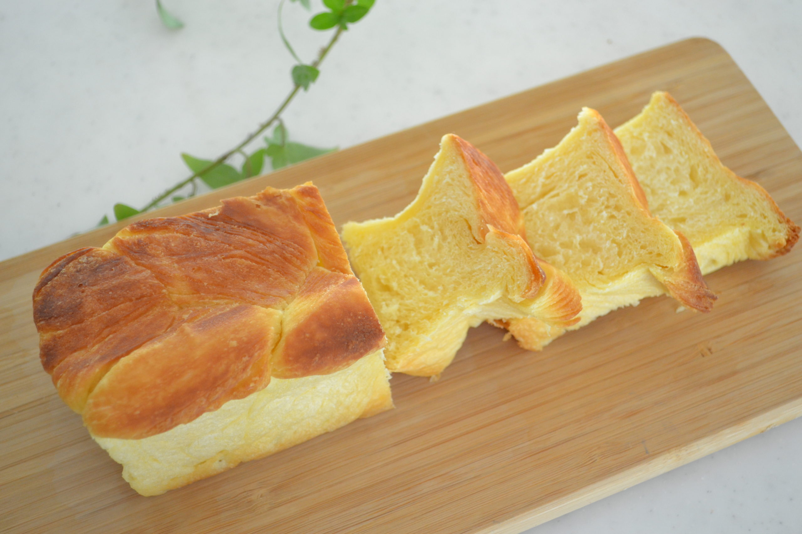 HOW TO MAKE ★CROISSANT SHOKUPAN★ POUND CAKE TIN AND NO LID REQUIRED (EP181)
