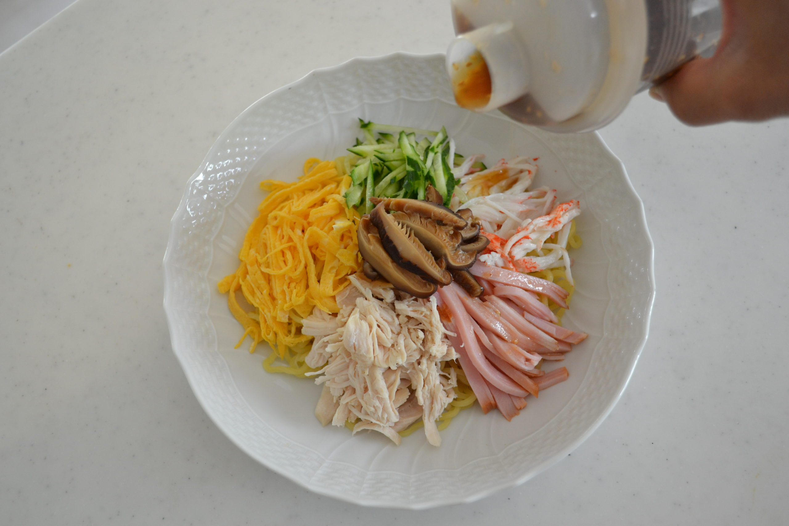 HOW TO MAKE ★HIYASHI CHUKA★SUMMER NOODLE RECIPE (EP198)
