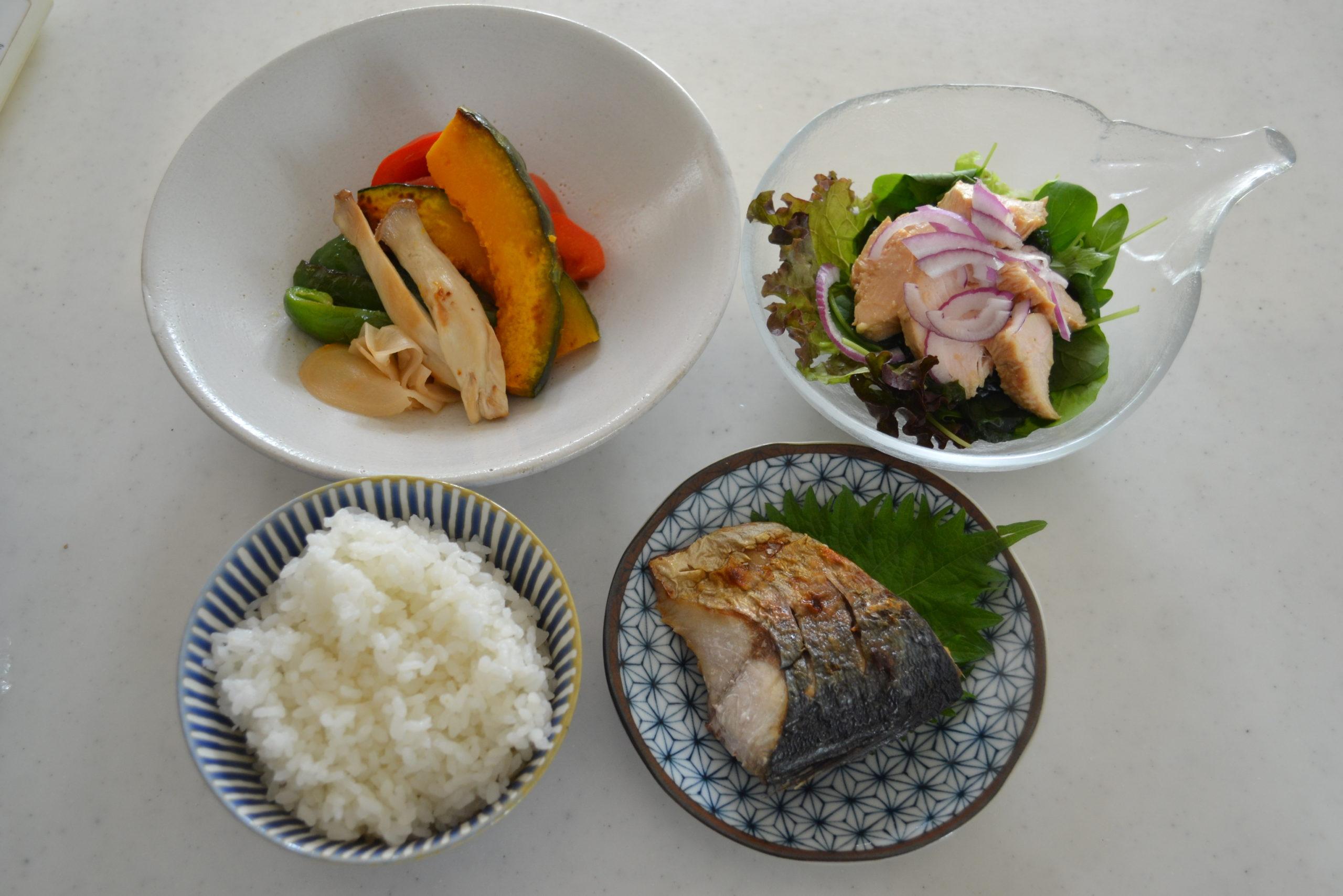 Grilled Salted Mackerel  Saba-no-Shioyaki