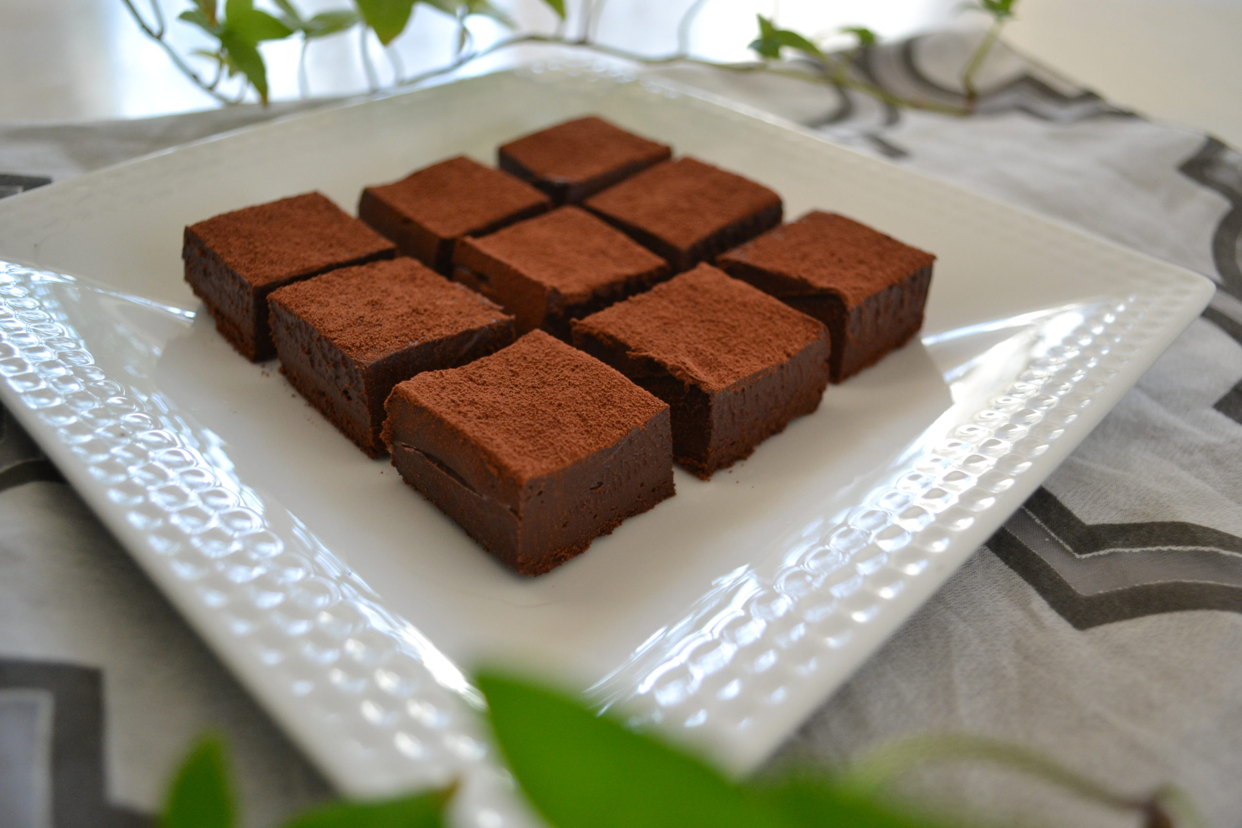 HOW TO MAKE TOFU CHOCOLATE | 40% reduced calories but yet Delicious! | Valentine's Day (EP264)