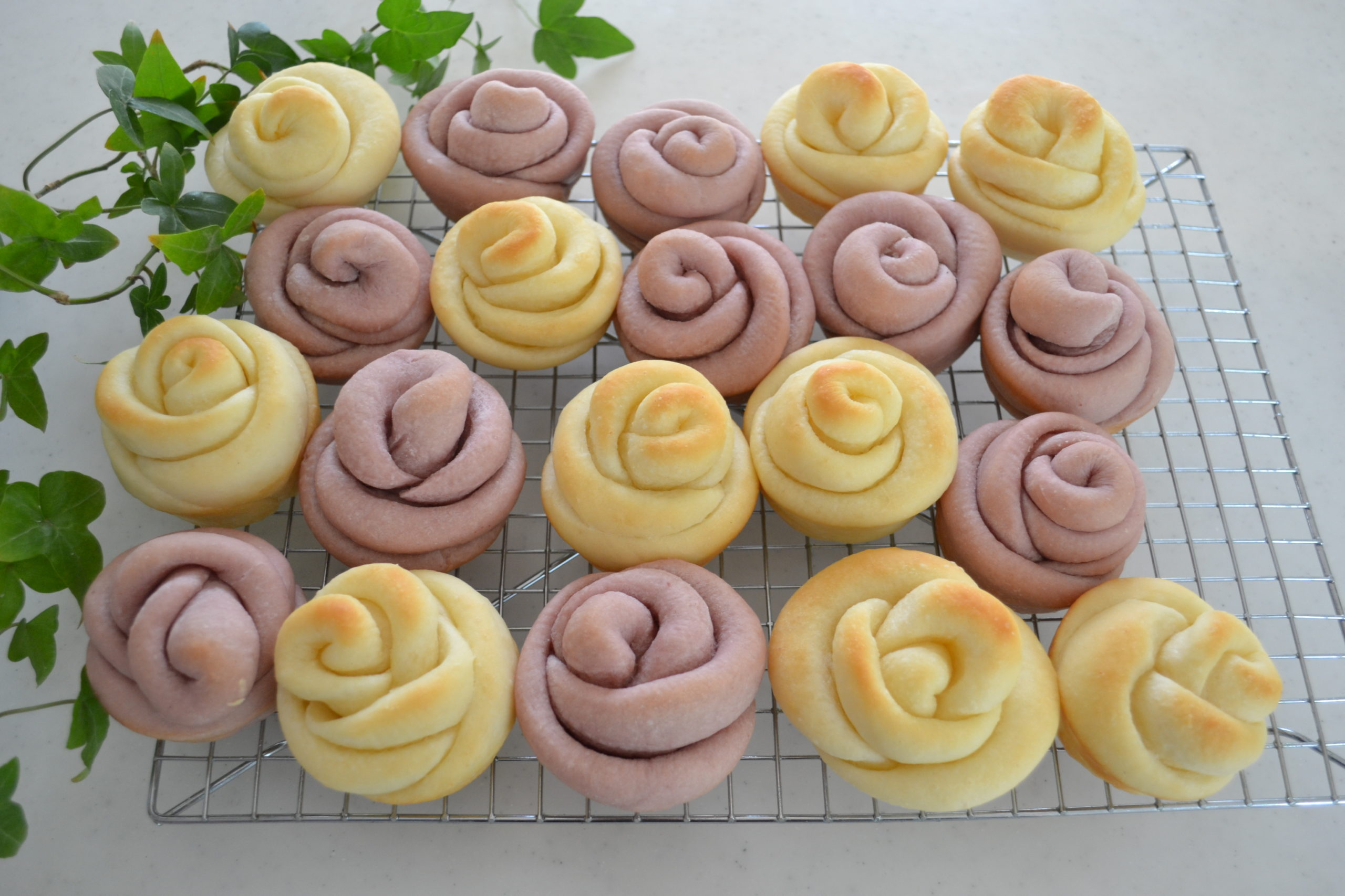 ROSE ROLLS for Mother's Day