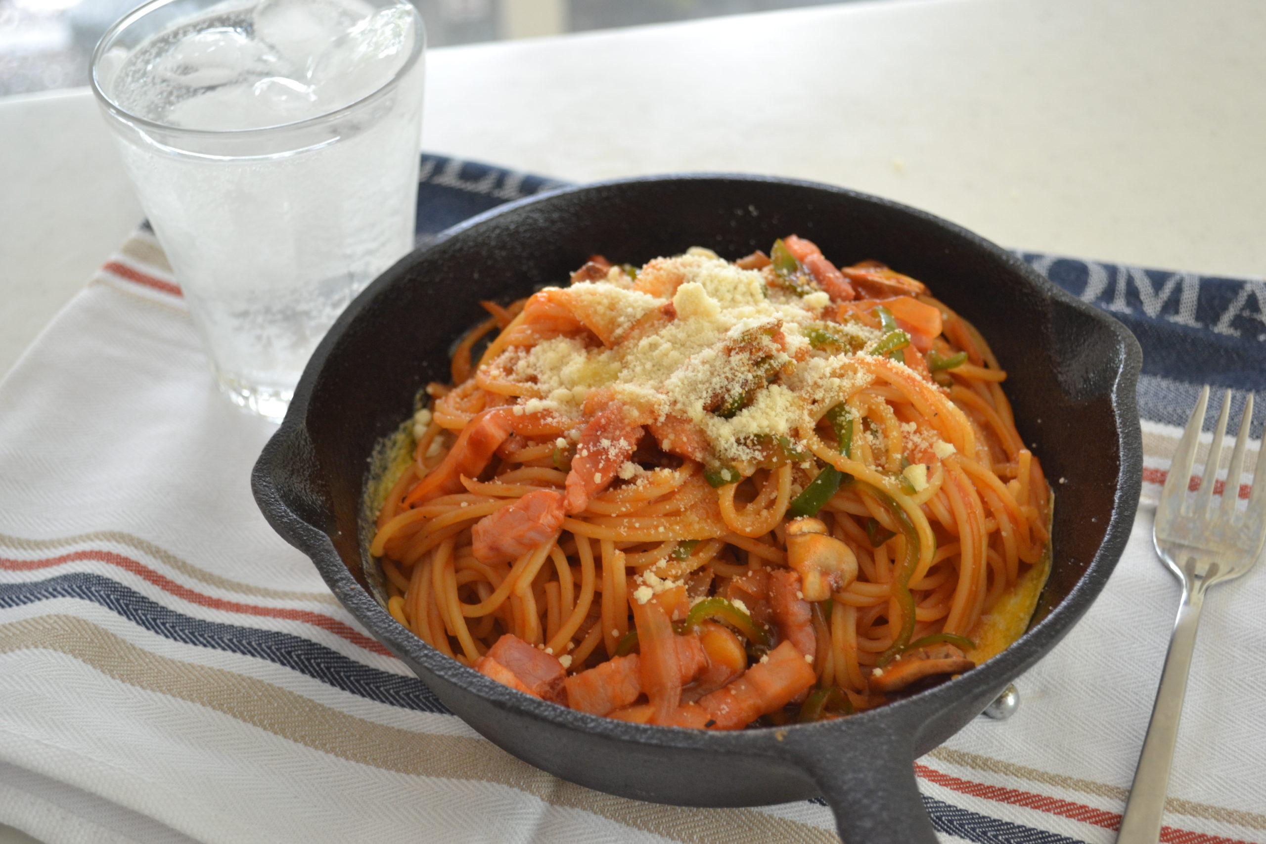 SPAGHETTI NAPOLITAN | Japanese take on pasta | Ketchup pasta (EP278)