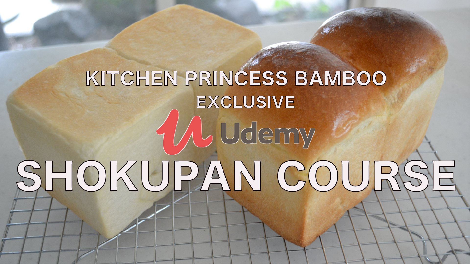 SHOKUPAN / Japanese Milk Bread / Bread Baking 101/ Exclusive course on Udemy