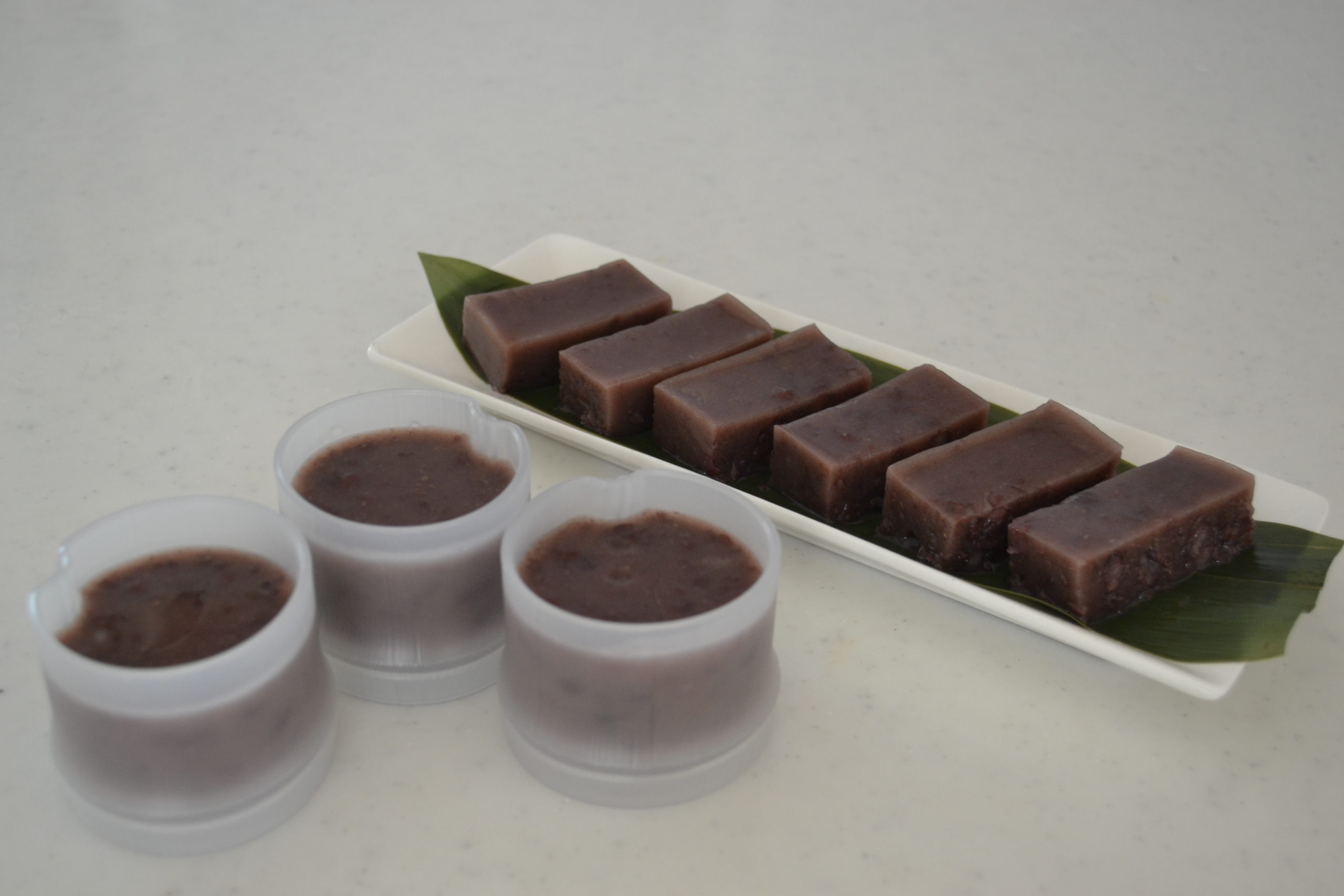 How to make MIZU YOUKAN | Red Bean Jelly | Summer Dessert