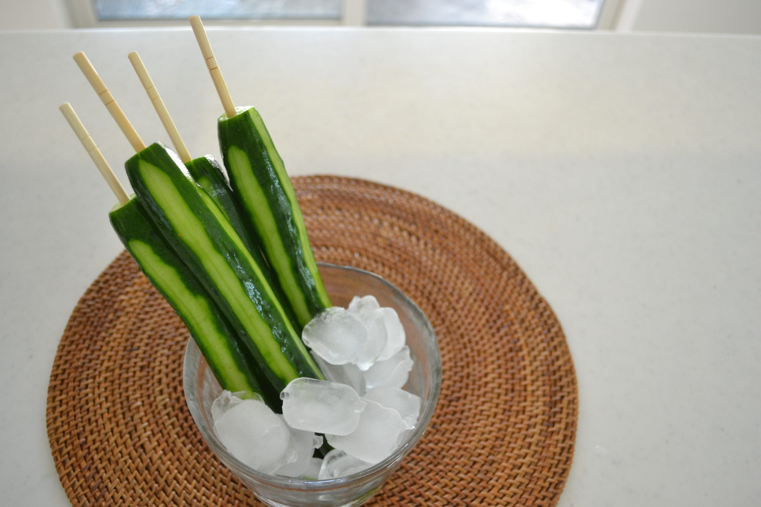 Summer Festival Chilled Cucumber | Easy and delicious side dish for Summer BBQ !